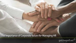 The Importance of Corporate Values ​​for Managing HR